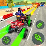 Download ATV Quad Bike Racing Simulator: Bike Shooting Game APK