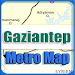 Download Gaziantep Turkey Metro Map Offline APK