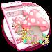 Pink Cute Mushroom Theme