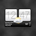 Download Sense V2 Flip Clock & Weather APK